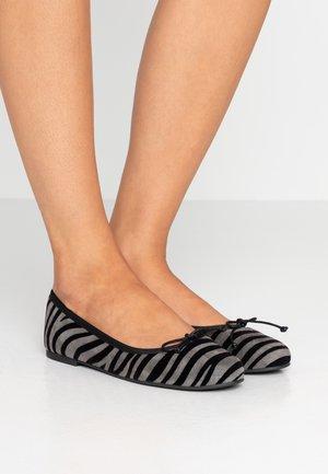 JUNGLA - Ballet pumps - dark grey