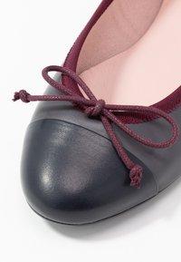 Pretty Ballerinas - COTON - Klassischer  Ballerina - azul - 2