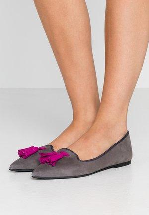 ANGELIS - Loafers - dark grey