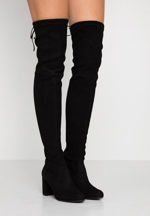 ANGELIS STRETCH - Over-the-knee boots - black