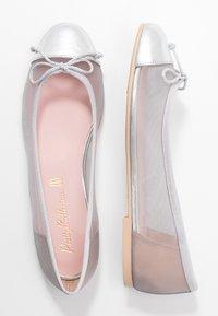 Pretty Ballerinas - Ballerines - plata/grey/coco - 3