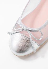 Pretty Ballerinas - Ballerines - plata/grey/coco - 2