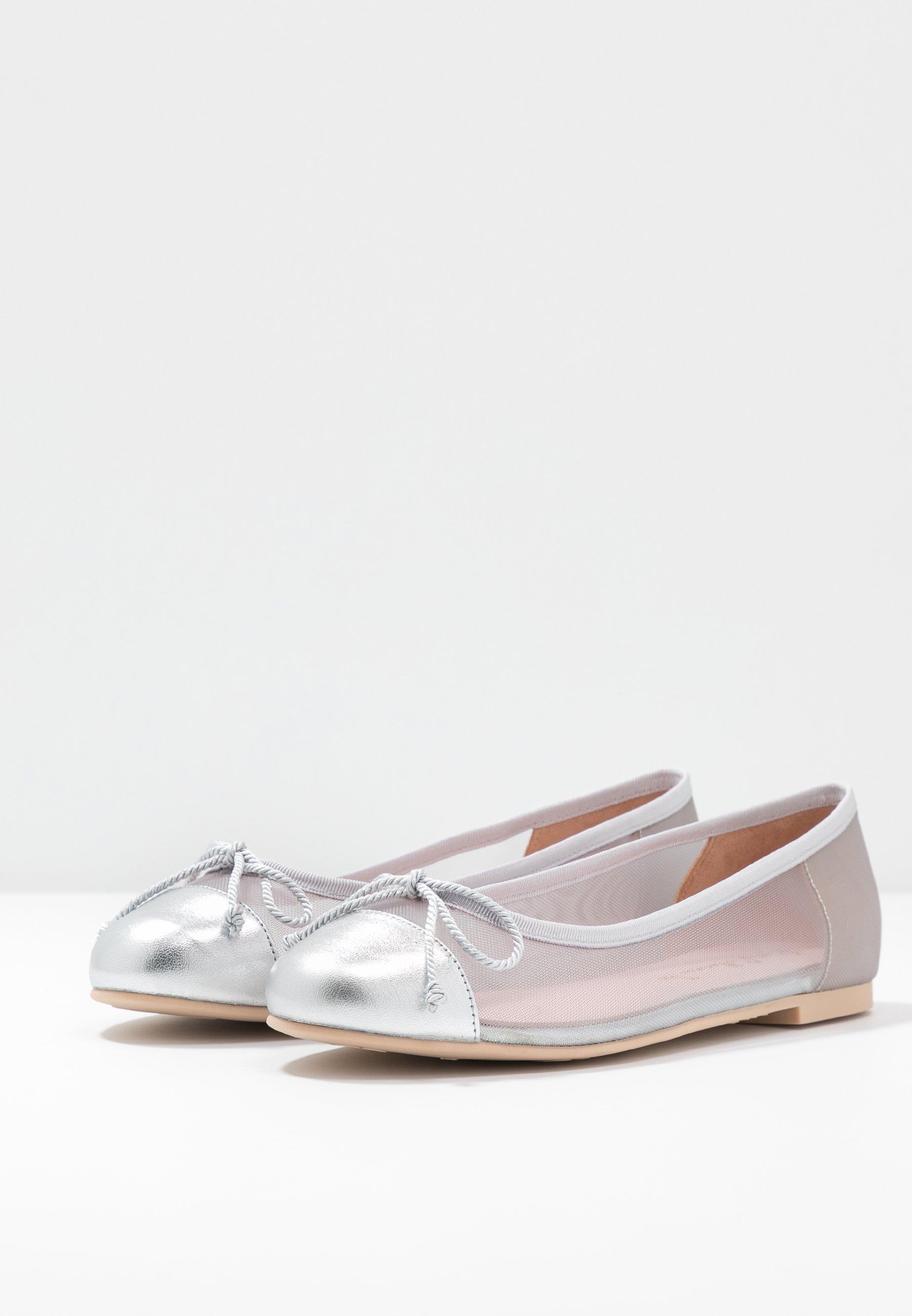 Pretty Ballerinas Ballerinasko - plata/grey/coco