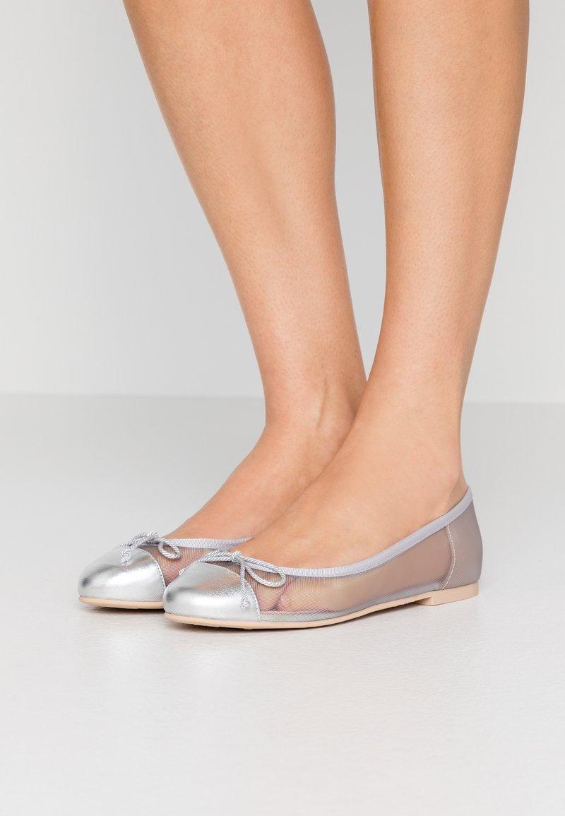 Pretty Ballerinas - Ballerines - plata/grey/coco