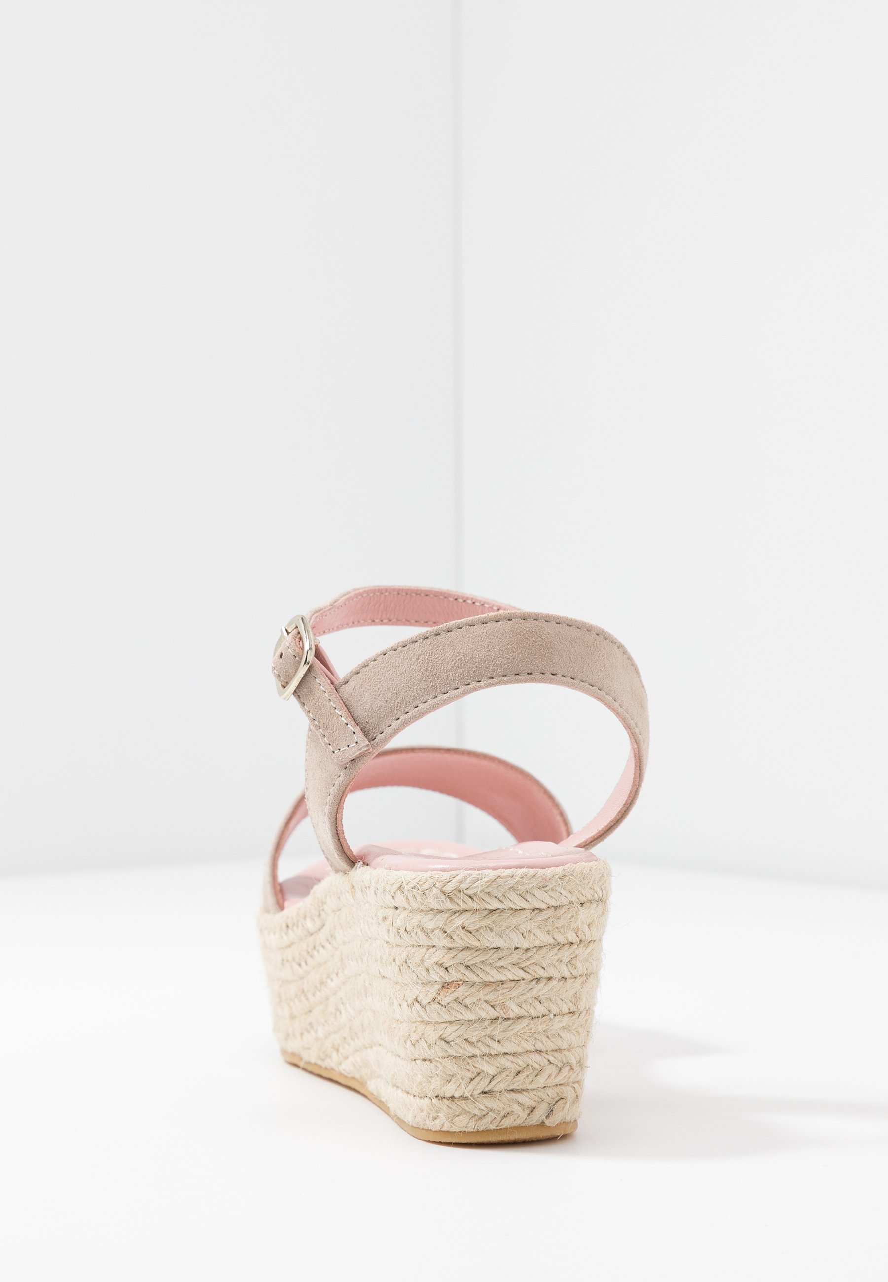 Pretty Ballerinas ANGELIS - Espadryle - safari/cuna