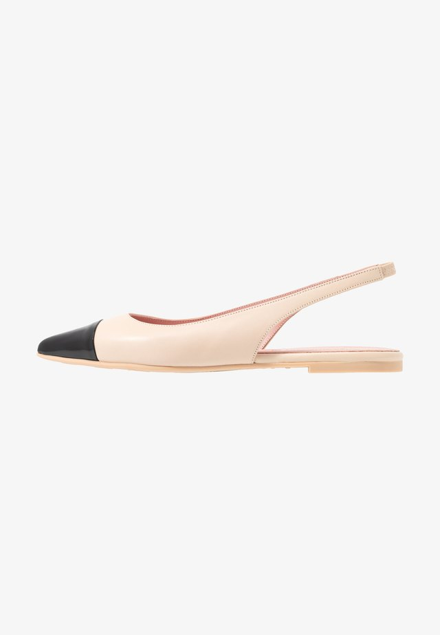 SHADE - Slingback ballet pumps - white