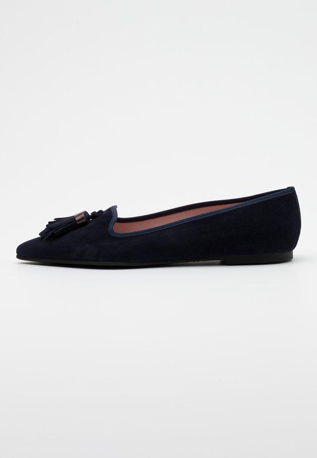 ANGELIS  - Klassischer  Ballerina - navy blue