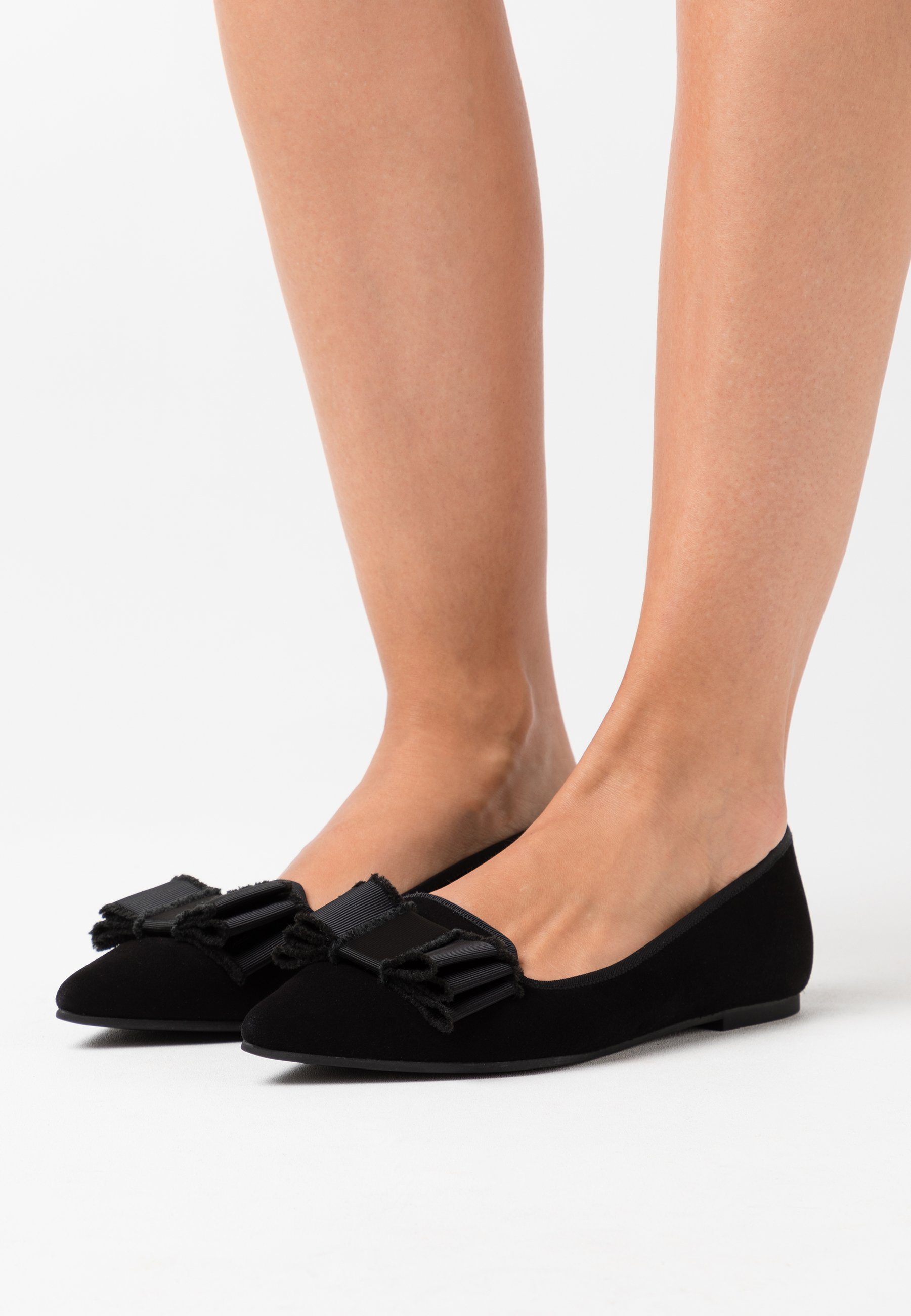 SHADE ANGELIS Ballerinaskor black