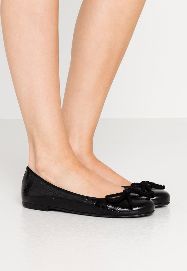 TEMPO - Ballerinaskor - black