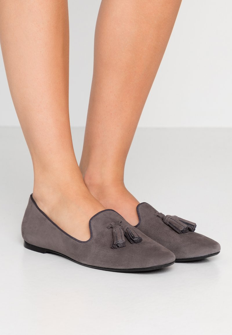Pretty Ballerinas - ANGELIS - Slip-ons - dark grey