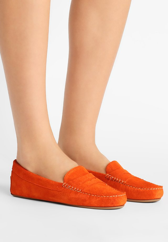 Moccasins - orange
