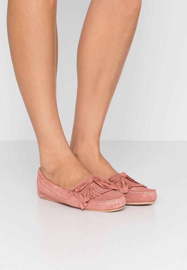 MICROTINA CROSTINA - Mokkasiner - pink