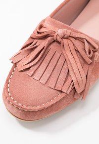 Pretty Ballerinas - MICROTINA CROSTINA - Mokkasiinit - pink - 2