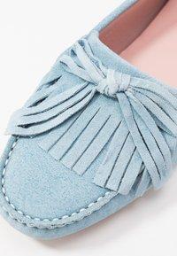 Pretty Ballerinas - MICROTINA CROSTINA - Mokkasiner - light blue - 2