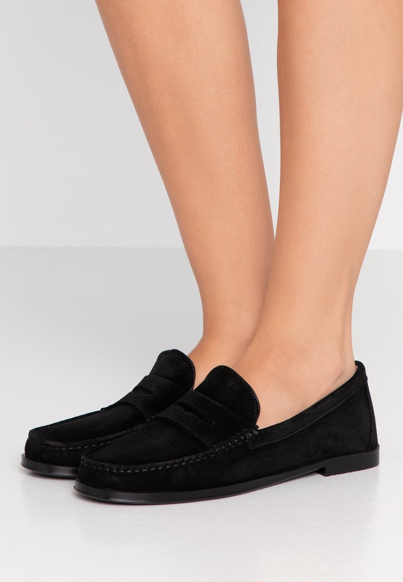 Pretty Ballerinas - CROSTINA - Slipper - black