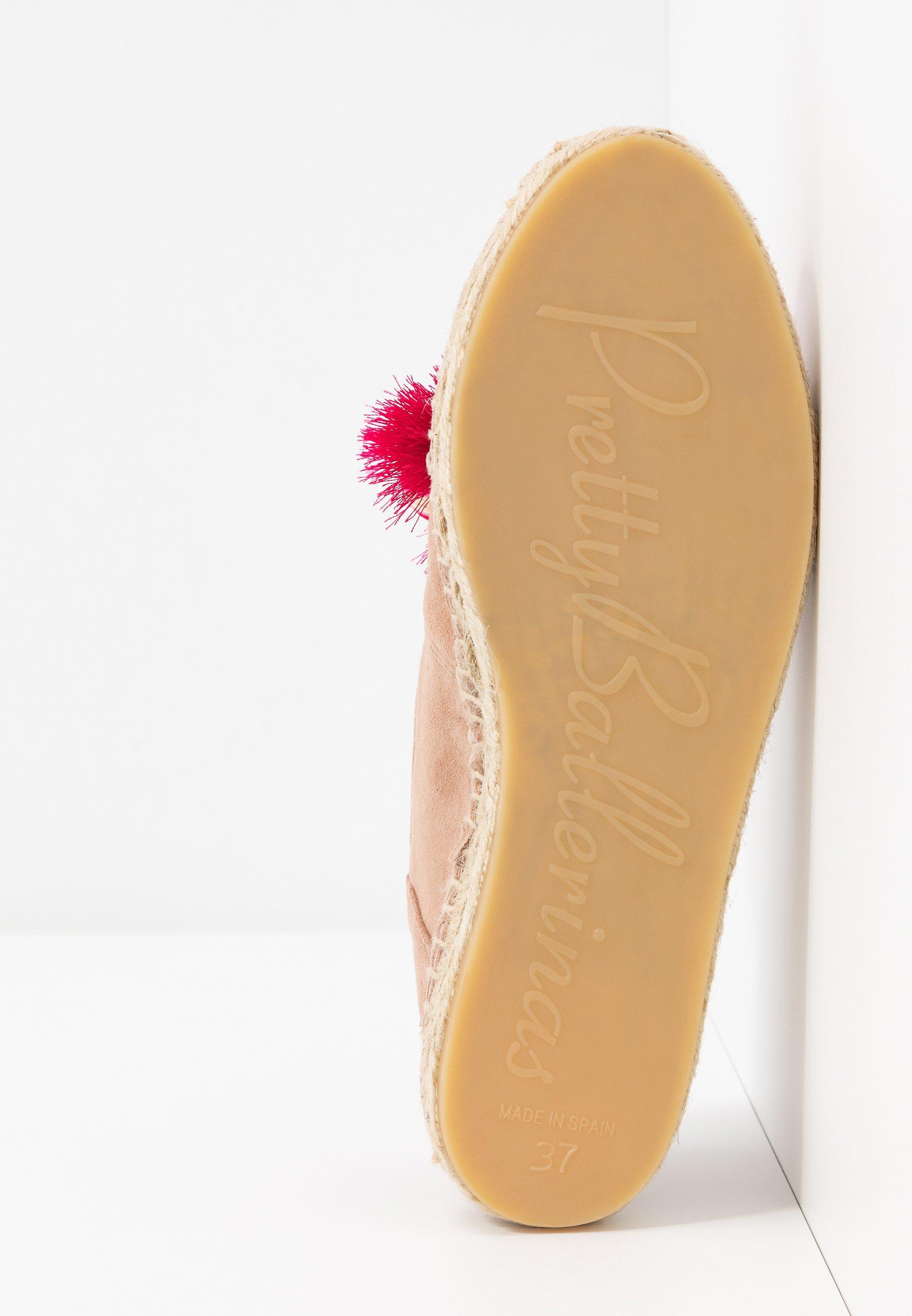 Pretty Ballerinas Angelis - Espadrillos Bisque/fuxia