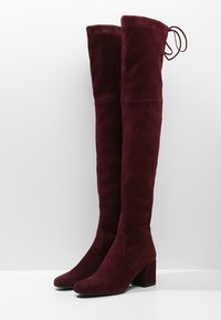 Pretty Ballerinas - Over-the-knee boots - bordeaux - 3