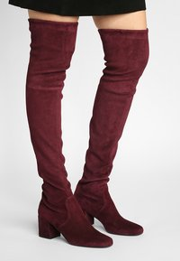 Pretty Ballerinas - Over-the-knee boots - bordeaux - 0