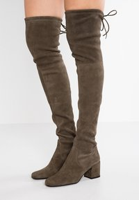 Pretty Ballerinas - Over-the-knee boots - olive - 0