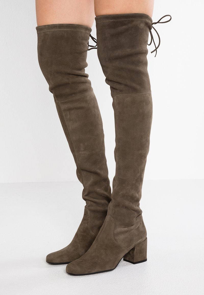 Pretty Ballerinas - Over-the-knee boots - olive
