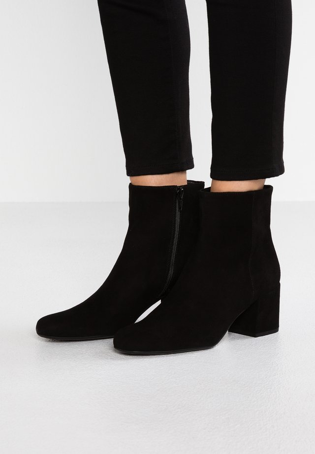 ANGELIS - Ankle boots - black