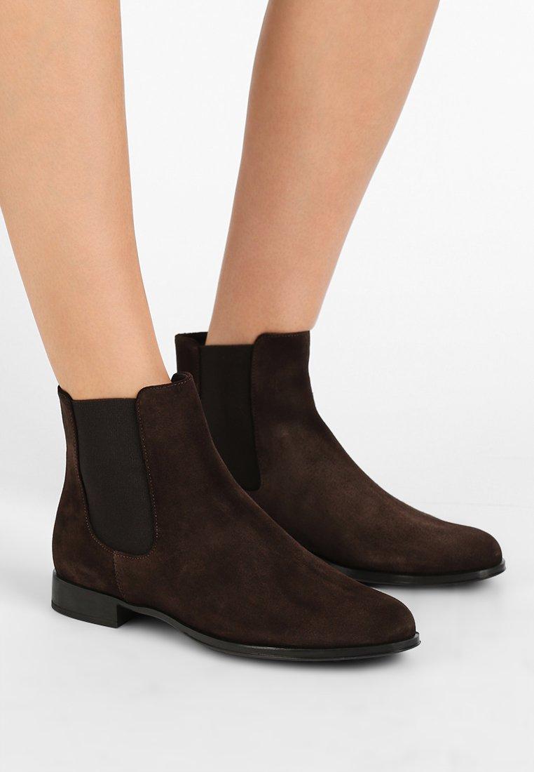 Pretty Ballerinas - CROSTINA - Ankle boots - marmotta