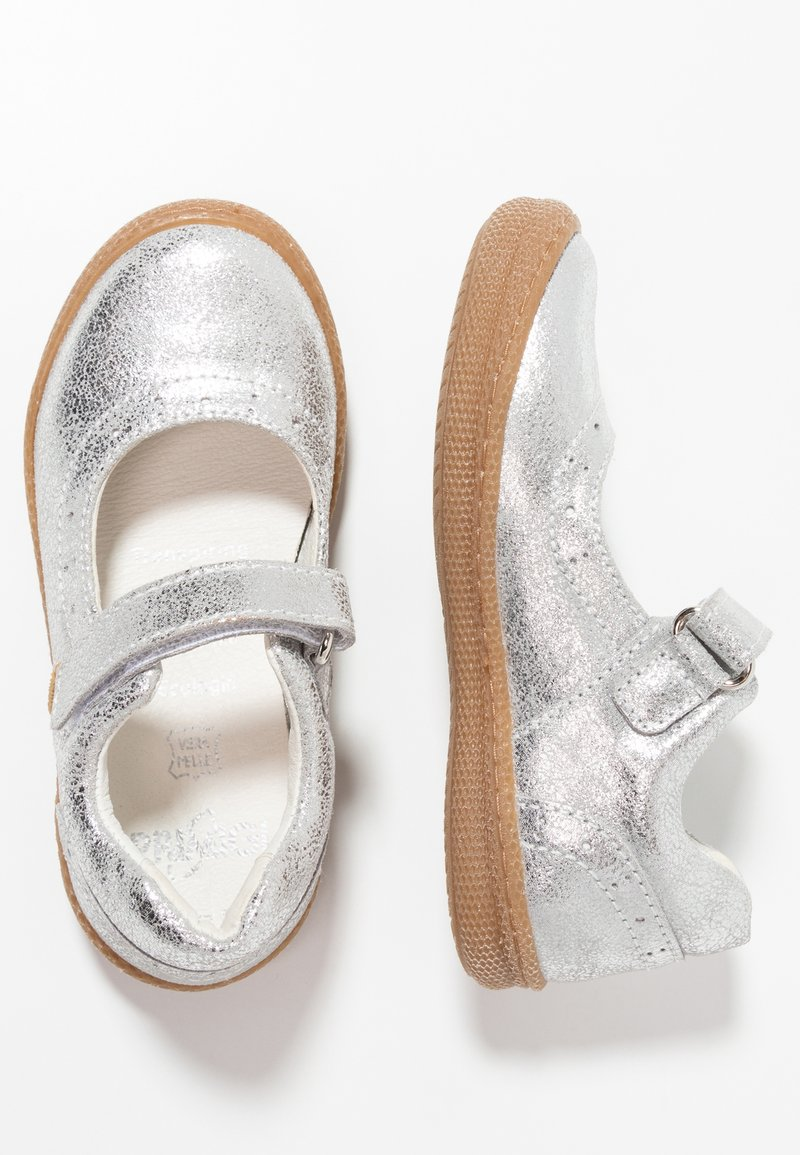 Primigi - Ballerinat nilkkaremmillä - argento