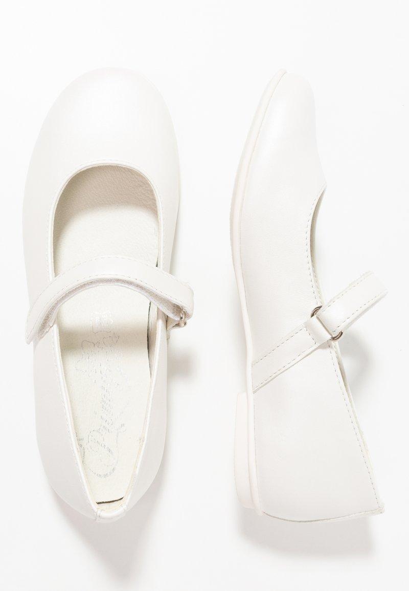 Primigi - Ballerina's met enkelbandjes - bianco