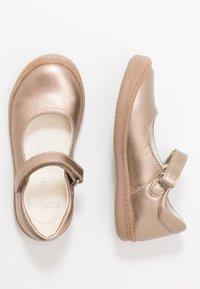 Primigi - Ankle strap ballet pumps - taupe - 0