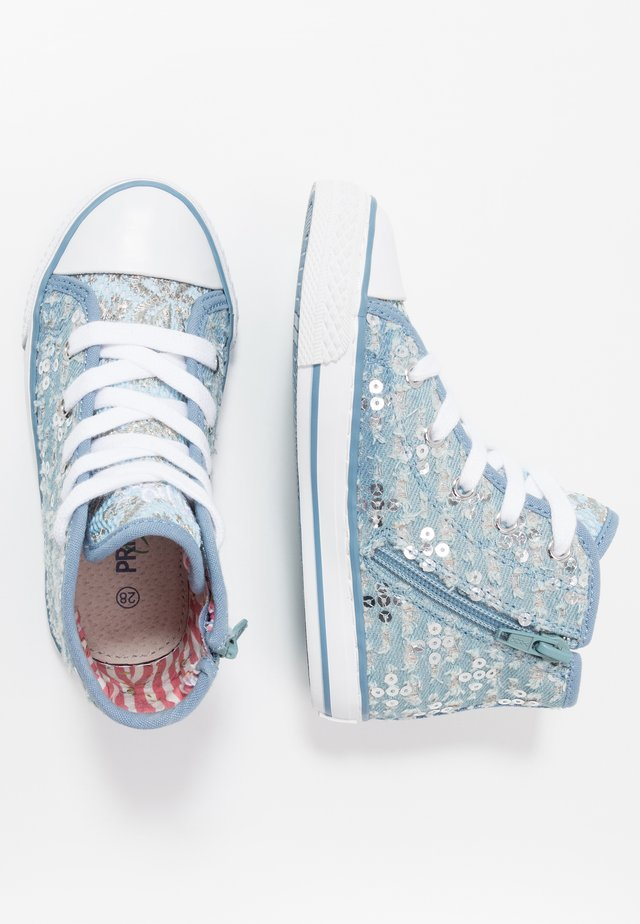 Sneakers alte - denim