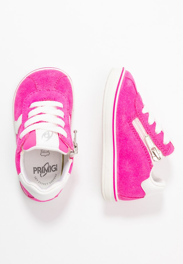 Sneakers laag - pink/fuxia fluo