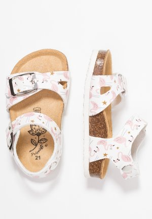 Sandali - bianco/rosa