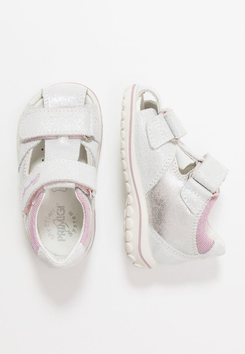 Primigi - Lær-at-gå-sko - argento