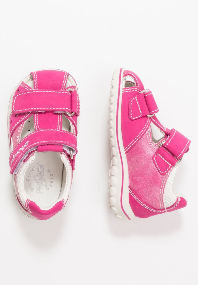 Baby shoes - lampone/fuxia