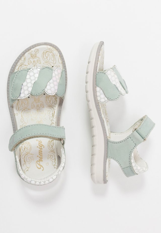 Sandals - acqua/iridescent