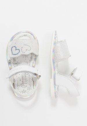 Sandales - bianco/argento