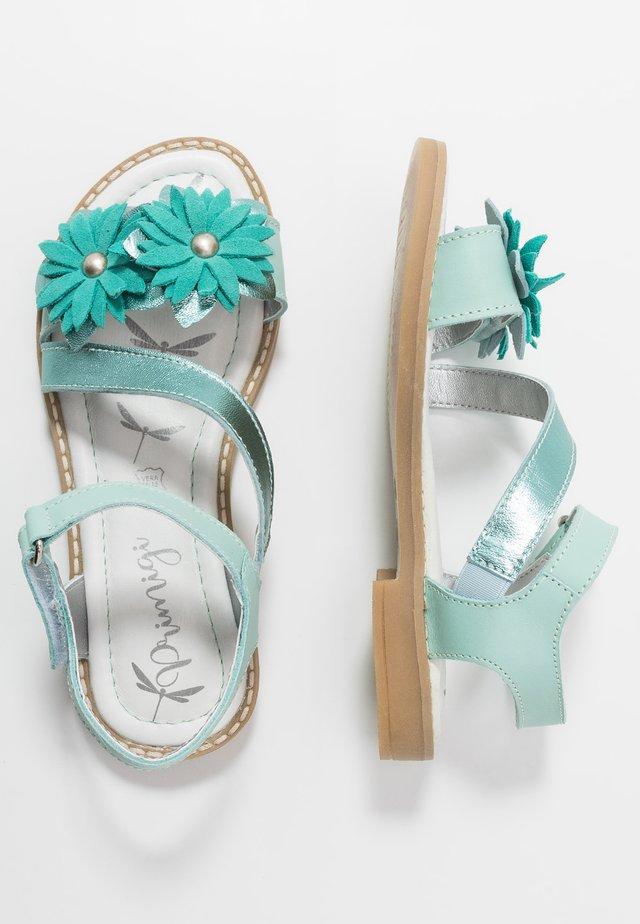 Sandales - acqua/mare