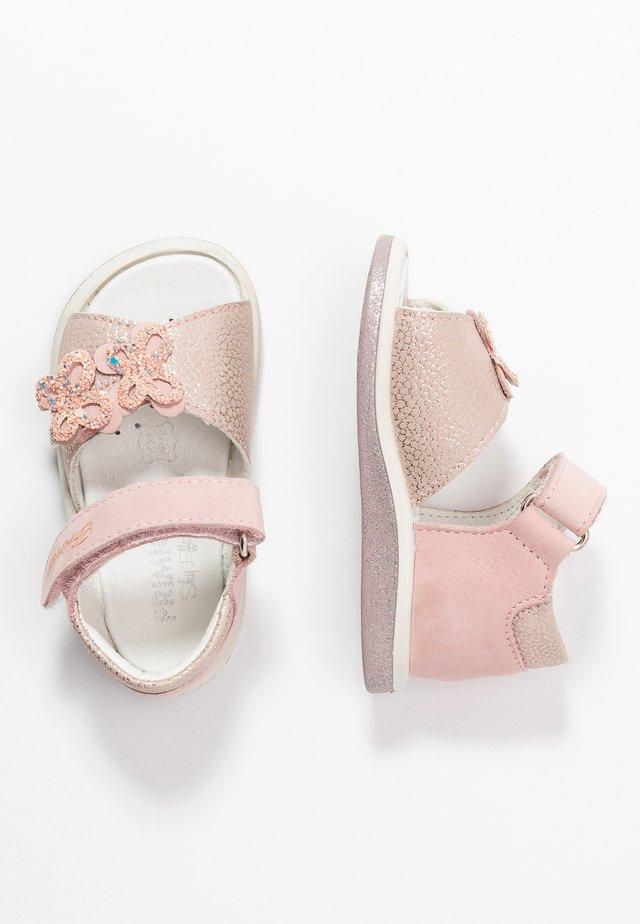 Sandalen - rosa/cipria