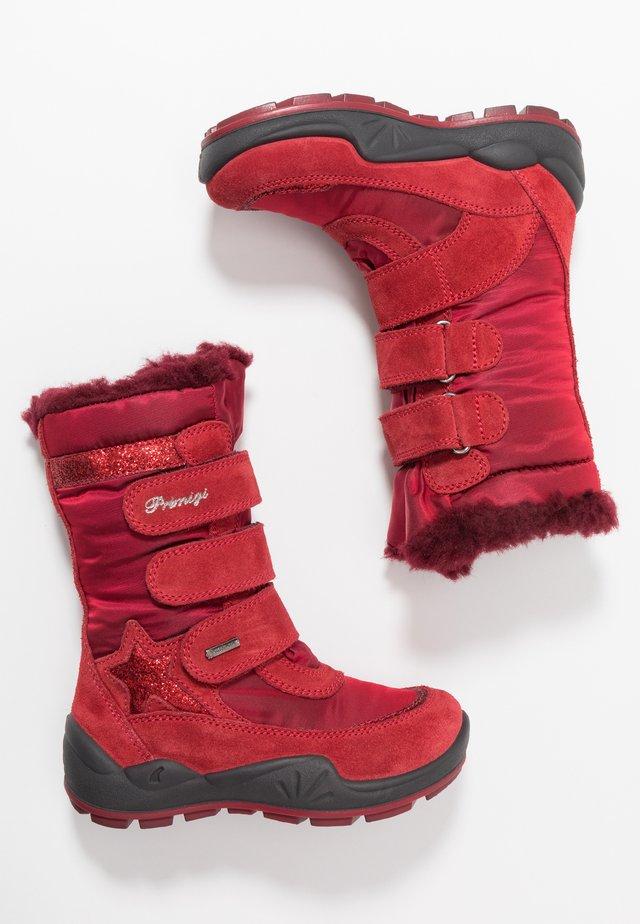 Snowboot/Winterstiefel - scarlet/rosso