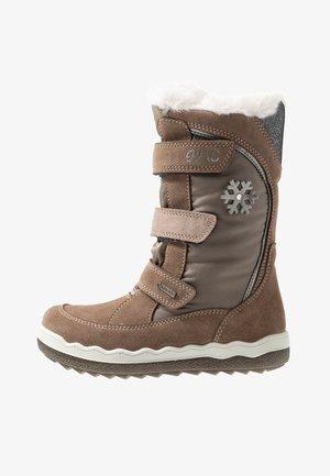 Zimní obuv - marmotta/pietra