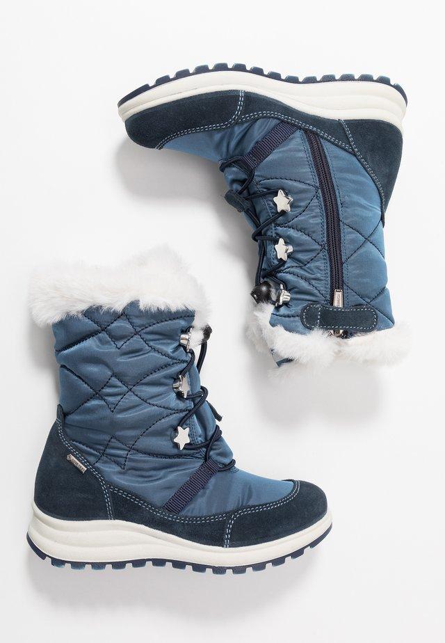 Śniegowce - navy/jeans