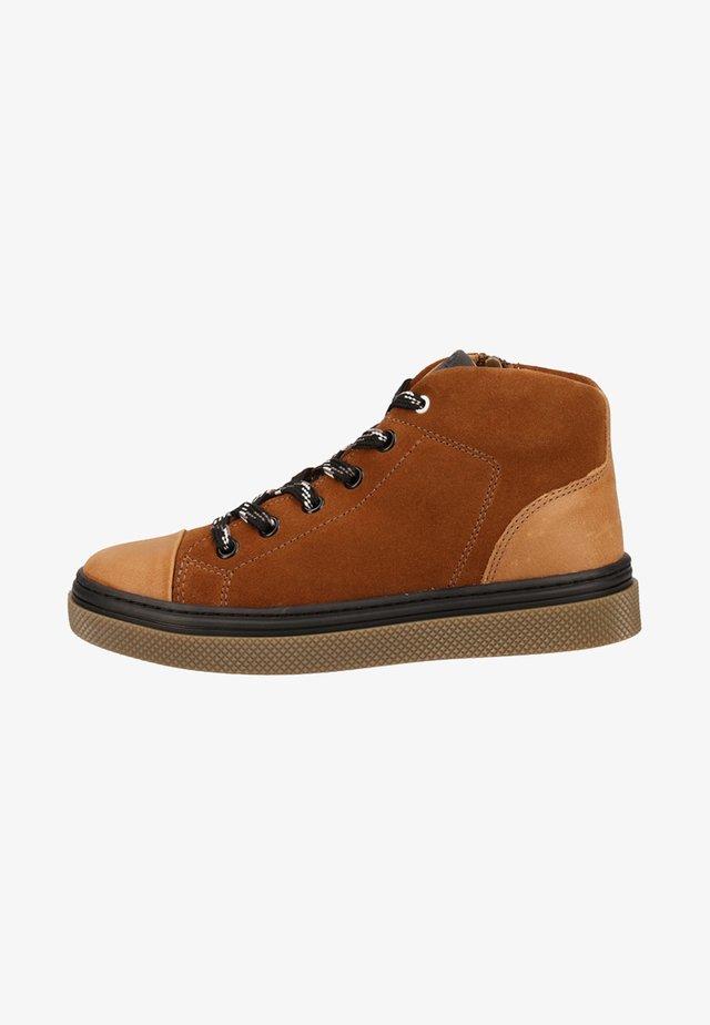 Sneaker high - brown