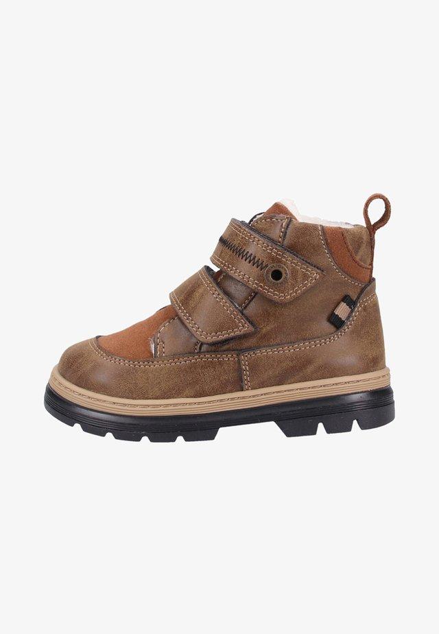 Lauflernschuh - leather/brown