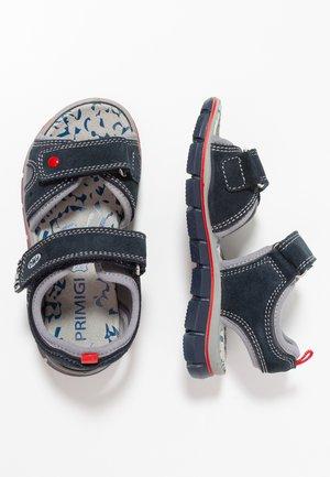 Sandály - navy/grigio