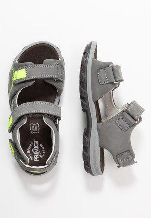 Walking sandals - dark grey