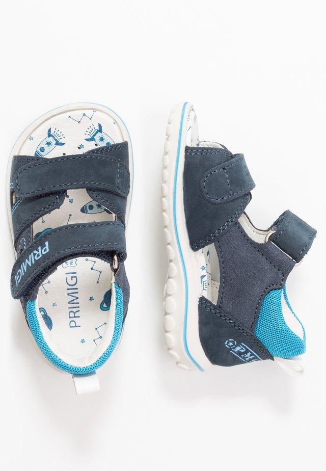 Sandaalit nilkkaremmillä - azzur/blu