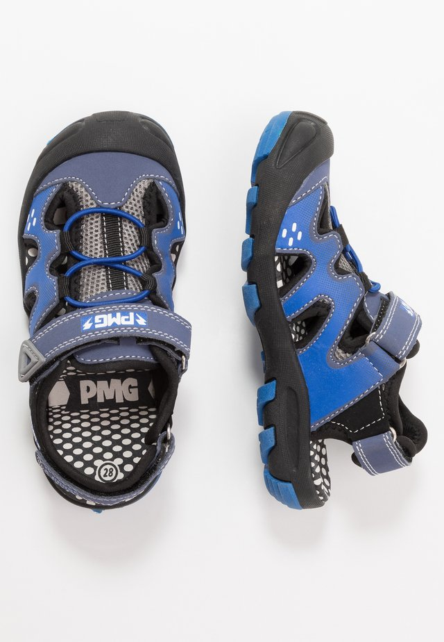 Walking sandals - navy/royal/grig
