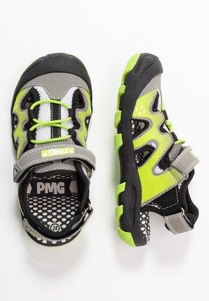 Walking sandals - grigio/verd/gris