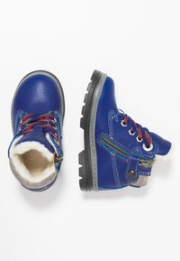 Primigi - Lace-up ankle boots - bluette - 0