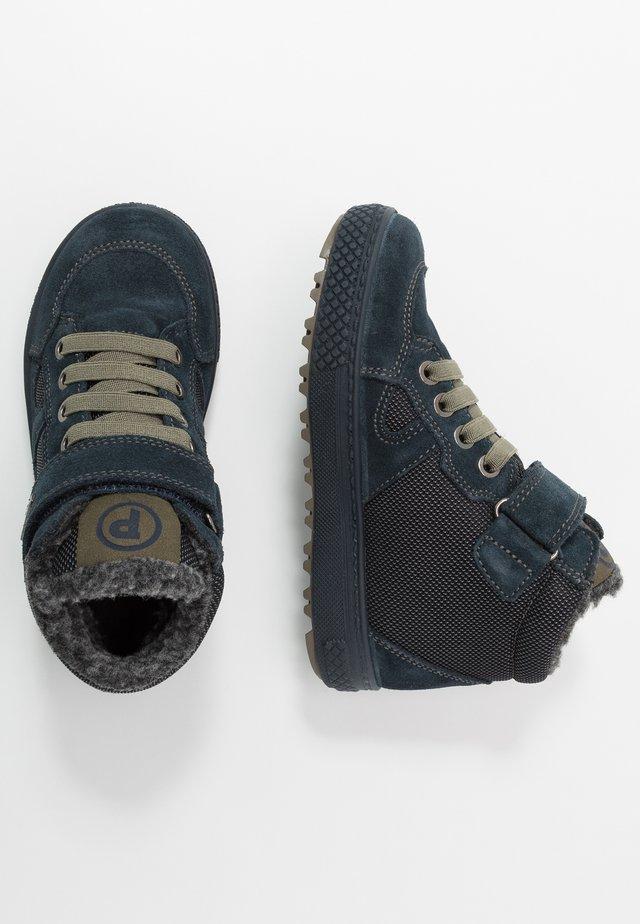 Winter boots - navy/grigio